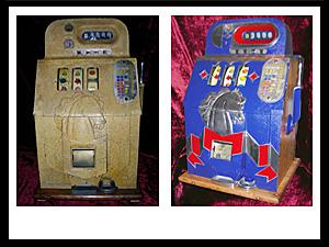 Mills Horsehead Slot Machine